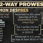 Simon Despres has stepped up his game this season for the #Pens. http://t.co/6xzDHCcerX