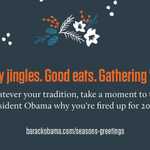 There's still time to sign the @OFA holiday card for the President: http://t.co/5OjHNUN4Ry