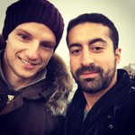 Holiday pic: Rakitic in Paris, France, with a fan #fcblive [via @barzaboy] http://t.co/SXnc9P4ORq