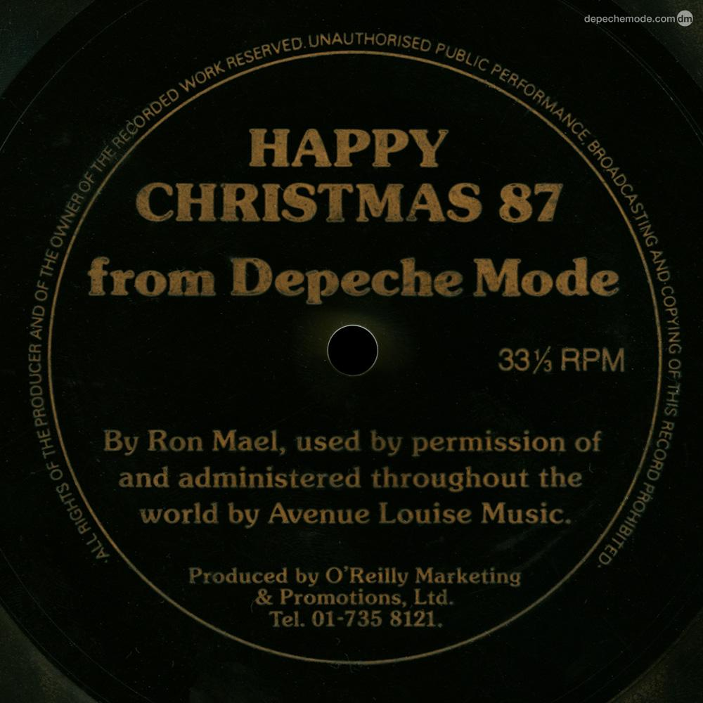 RT @depechemode: Never Turn Your Back On Mother Earth. The #DepecheMode Christmas flexi-disc from 1987. http://t.co/nmGRqlBqDz