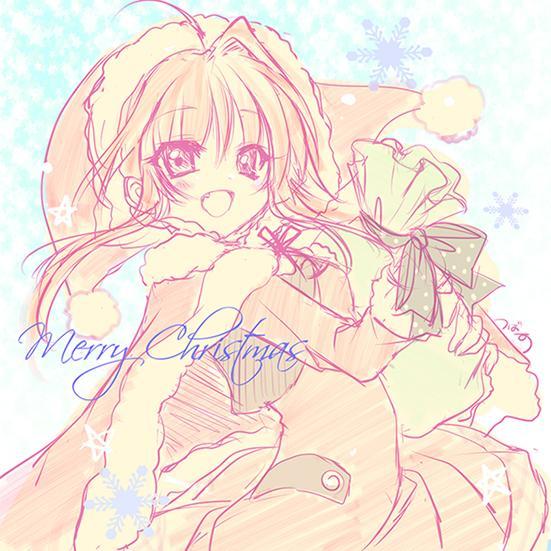 (o・∀・)★.:゜+。☆ メリークリスマス☆.:゜+。★イブだけどー。なんとなくサンタ=紗凪 http://t.co/IIZqjLFToj
