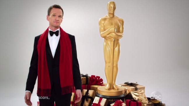 Watch Neil Patrick Harris' Christmas Oscars Promo @ActuallyNPH
