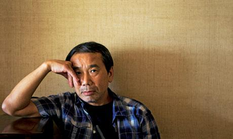 "\""I\m a very ordinary human being; I just happen to like reading books.\"" Happy Birthday, Haruki Murakami."