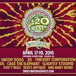 Catch me @420fest 4/14 - 4/19 !! U got to do it !  tix: http://t.co/ZiGvyHPKz5 http://t.co/FTVWhVamZs