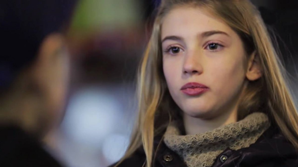 VIDEO In a social experiment young boys were asked to slap a girl