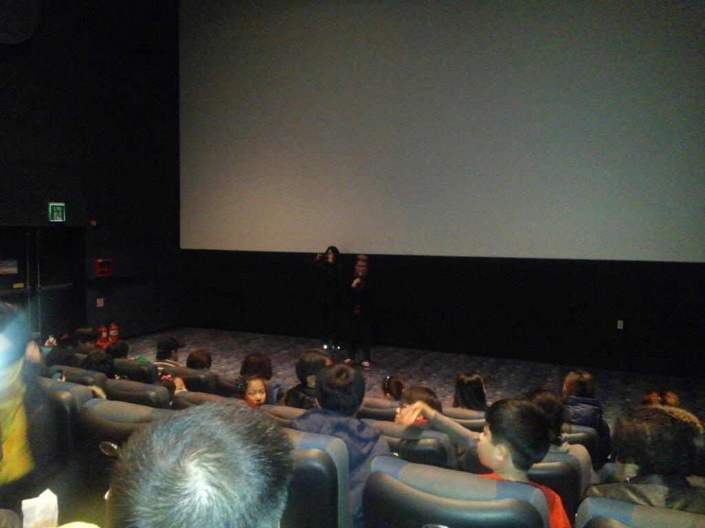 #개훔방 메가박스에서 엄용훈님(@yonghwun) 설명으로 영화 시작합니다:) http://t.co/T7lWDFLNKB