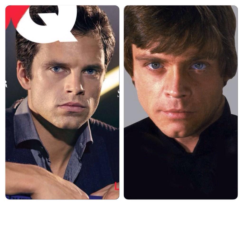 RT @LukasArtSmarts: Am I the only one who thinks Sebastian Stan looks like Luke Skywalker's (aka Mark Hamill's) lovechild? :/ http://t.co/nikoOIiPn8