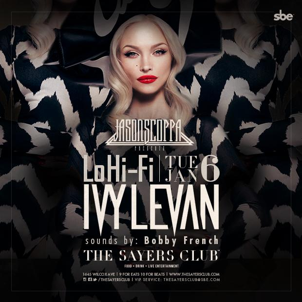 Tonight! @ivylevan live @TheSayersClub http://t.co/ahBXW7Pe0n http://t.co/SfzRvhXatN