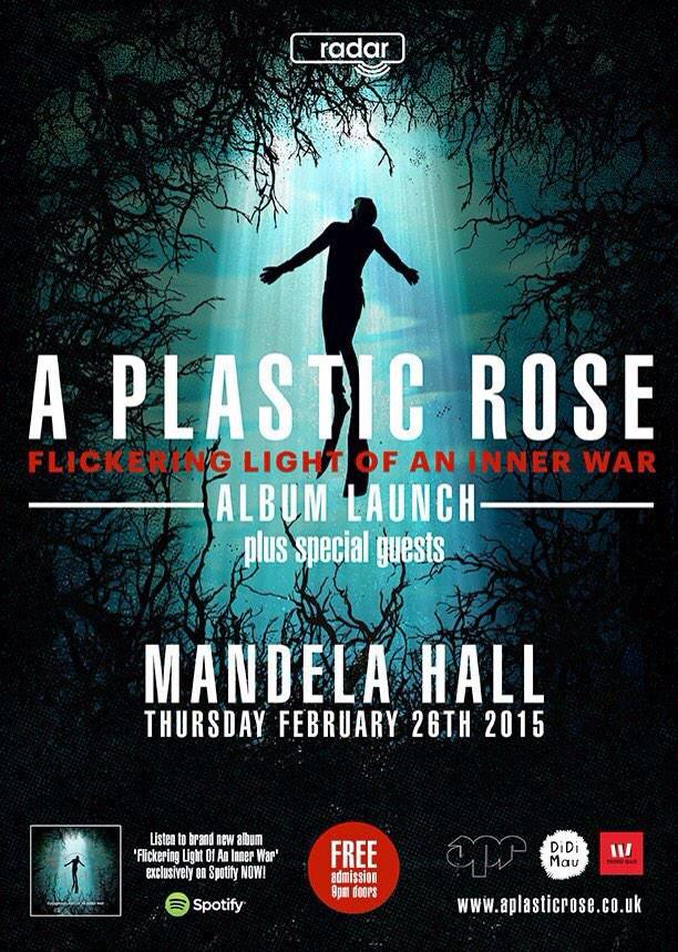 Everyone go to this. @aplasticrose launching their new album.  http://t.co/J2oyH27IVI