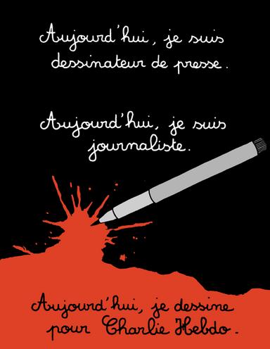 Poignante compil' des hommages des dessinateurs du monde entier #charliehebdo > http://t.co/6AV3GArTH2 http://t.co/ugoM17THdn