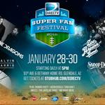 See me at tha #biggame ! @DIRECTV #SuperFanFestival wit @imaginedragons Fri. Jan 30 ! tix: http://t.co/2xBC0RUDlh http://t.co/yWN6MU9MUE