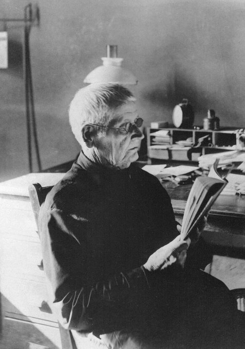 Happy 193rd birthday to Walter Hill, SJ! The late philosophy prof authored the first history of in 1879
