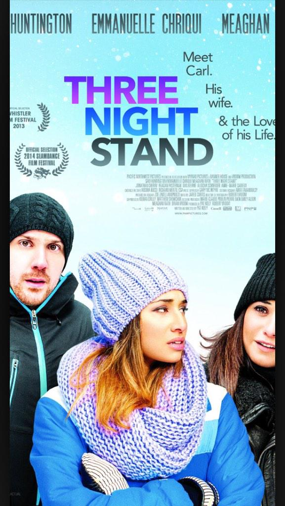 I adored watching @MeaghanRath and @SammyHuntington in Three Night Stand and you will too ! http://t.co/H0sAKpnhx8