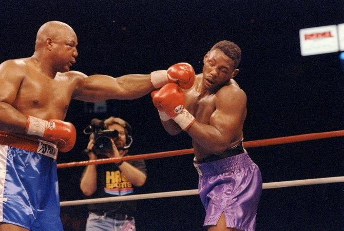 Happy 66th birthday to the one and only George Foreman! Congratulations