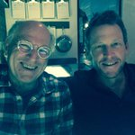 Great spending time & catching up with my good friend @jimmybuffett tonight. Thanks @QUIAustin 4 the excellent meal.