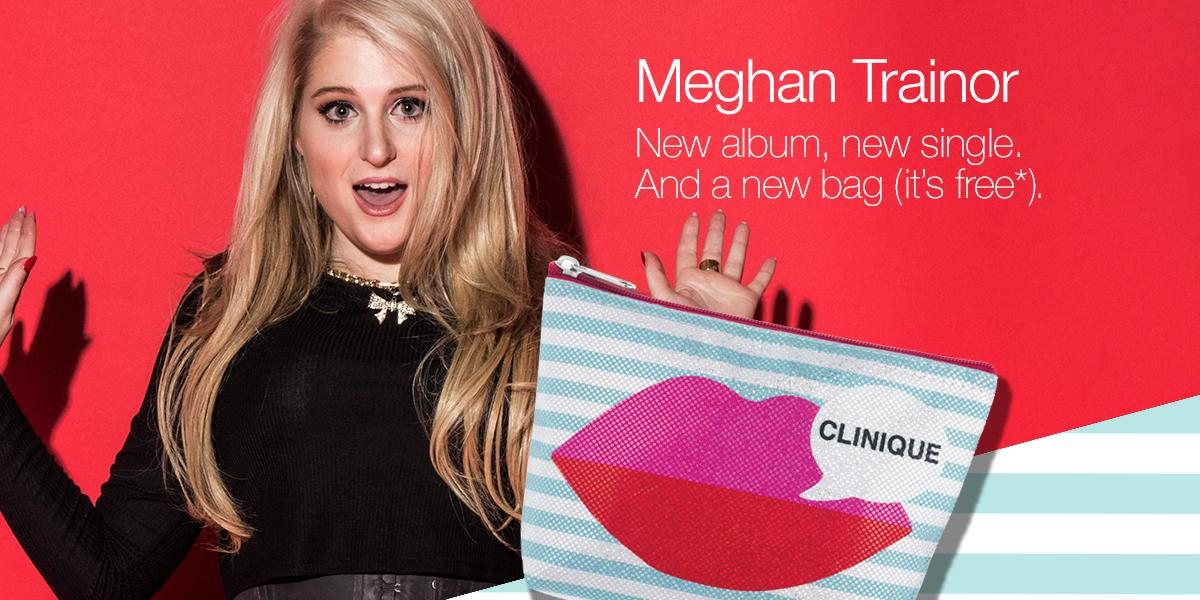 Celebrate @meghan_trainor's new album with an exclusive #makeup bag: http://t.co/Pr9KeZIl2W #MeghanForClinique http://t.co/vRIHarSgBx