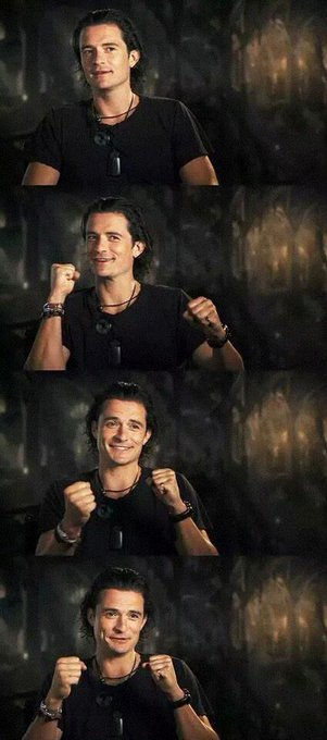 Happy birthday to the awesome orlando bloom!