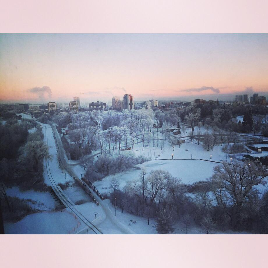 Love the morning view of @citywaterloo Park from our home :) #kwawesome http://t.co/2KAMwDAepq