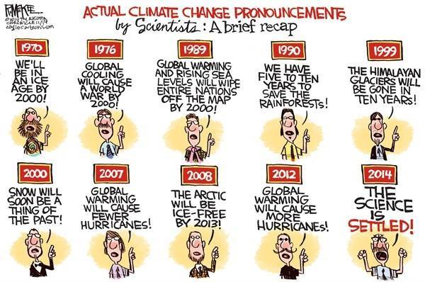 Actual climate change pronouncements over the years. http://t.co/j7mRTTUga3