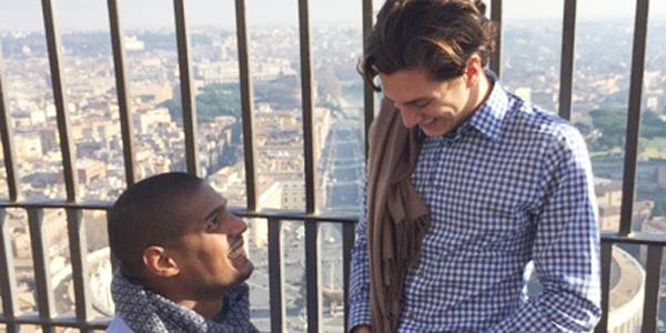 Congratulations to Michael Sam and Vito Cammisano on their engagement!