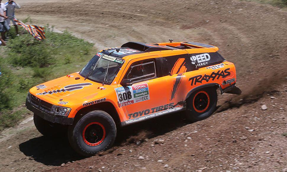 It's official! @RobbyGordon & #TeamSPEED have WON stage 13 of #Dakar2015 @ToyoTires @Traxxas @SPEED_ENERGY http://t.co/k4fzKdAlVk