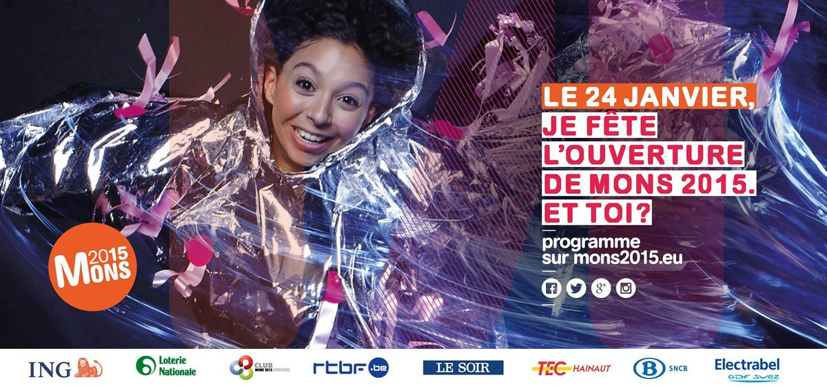 . @Mons2015 European Capital of Culture invites you for the big opening party this saturday eve january 24th! (clt) http://t.co/UPI461Dxhn