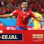 Twitter / @FOXSports_Chile: ¡HOY, 19.30, Chile vs EE.U ...