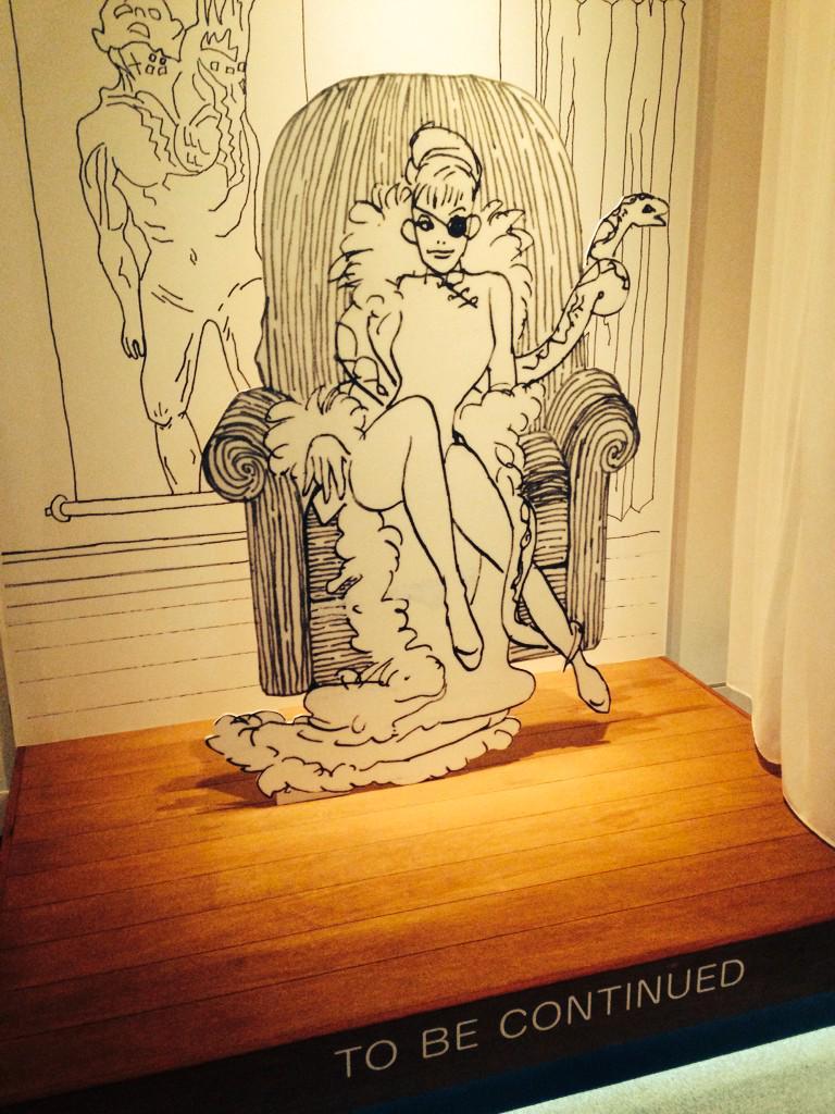世田谷文学館にて。岡崎京子展初日。…泣きそうな絵と言葉がありました。 http://t.co/QH1RVBR3Eo