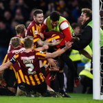 """Giant killers! Bradford stun Chelsea in FA Cup, day after Chelsea boss Jose Mourinho said loss would be a """"disgrace."""" http://t.co/7FD746mnDq"""