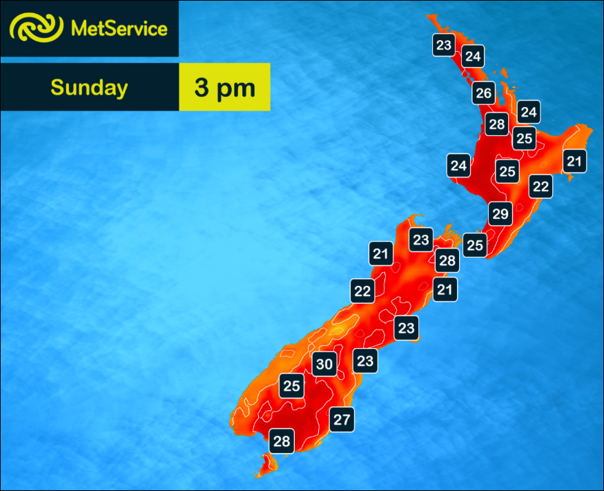It's a scorcher across the country today, especially away from the influence of those cooling sea breezes.^PL http://t.co/svlfTC1Aig