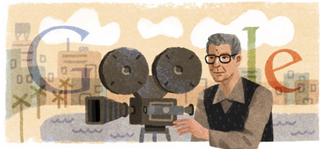 Google honors film great Youssef Chahine with doodle! Check it out on http://t.co/9VprA7cTBD http://t.co/zvyk4X34R6
