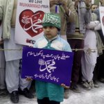 A little child in #JIShaneMustafaMarch #Lahore http://t.co/tJjI81gq9T
