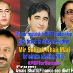 @MirSohrab is name of struggle give him a ticket for senate #PSFforSenate @BBhuttoZardari @BakhtawarBZ @AseefaBZ http://t.co/fU55lYMhrD