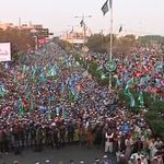 Massive rally in #Pakistan against #CharlieHebdo cartoons - WATCH LIVE: http://t.co/YrQxZIBAbk http://t.co/WWNUoXM870