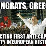 The polls have closed. Greeks got it DONE. H/T @USUncut #syriza #equality #democracy #alexistspiras #podemos #occupy http://t.co/AVN9szzPkN