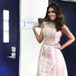 María Gabriela Isler a minutos de finalizar su reinado, el segundo más largo de la historia del Miss Universo. http://t.co/BJGWUljghf