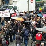 Place de la Madeleine Paris 26 Janvier Les salariés du #notariat en colère contre #LoiMacron http://t.co/PNovELpBaN