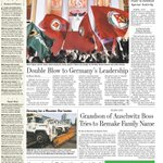 Syriza party sweeps to victory in Greece. NYC braces for a noreaster. A look at todays front page: http://t.co/lOcCwR1UrO