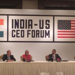 Now: @BarackObama speaking at the #IndiaUS CEO forum. @narendramodi http://t.co/Dag9UHCeX8