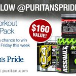 #GIVEAWAY: RT & follow for a chance to #win a Pre-Workout #Prize Pack, a $160 value: http://t.co/dLqJBRH3GC #gym http://t.co/XSCCzPCwJj