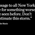 Twitter / @WSJ: Mayor @BilldeBlasio warns ...