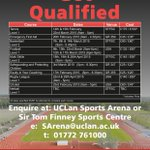 @UCLan Check out these great #sportscoaching opportunities for #UCLan students to enhance your CV ⚽️???????????? http://t.co/3QgAddRqTN