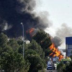 A Greek F-16 fighter jet crashes killing 10 people & injuring 13 at a Spanish military base http://t.co/PAjcBvvyAB