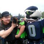 Dont worry @tacomacc! @BlitzTheSeahawk and Richard Purrman get along great at rallies! @Q13FOX http://t.co/b743GjV9v9