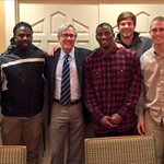 Dinner with Brian Hainline, Chief Medical Officer of the @NCAA http://t.co/5yhdKwcciA