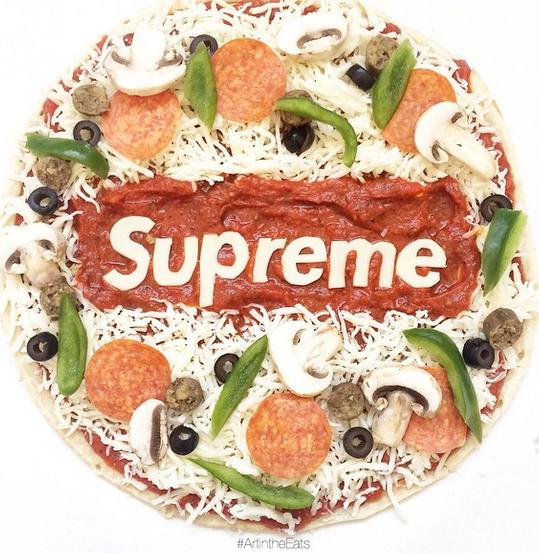 【なにこれかわいい】ブランドロゴを食べ物で再現したフードアートhttp