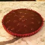 Happy National Chocolate Cake Day,Dark Chocolate & Fresh Rasperries. #cake #NationalChocolateCakeDay #cardiff http://t.co/afRDnWpU86