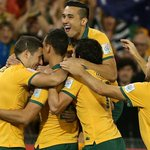 HALF TIME: 2-0 up and in the box seat against UAE! First half stats: http://t.co/Gu3JlKP7dW #GoSocceroos #AC2015 http://t.co/KmqOpaqiPD