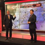 Only the best for our viewers. @bobmaxon and @DarrenSweeney rocking the wall for #Blizzard2015 #FirstAlertCT http://t.co/3Xff2g3spK
