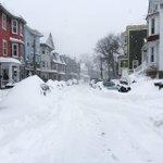 Snow + drifts cover cars on Hillside St. in Boston. #Blizzardof2015 updates: http://t.co/rrbOZCjIVs http://t.co/0ErRQ7vxZu